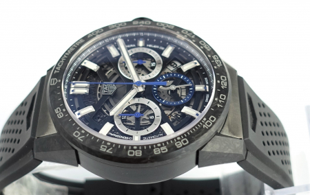 Tag Heuer Calibre Heuer 02 Carrera Chronograph Carbon Collection Limited Edition